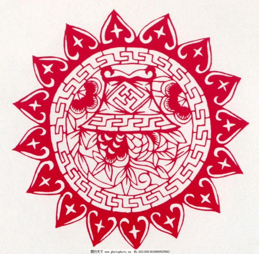 传统剪纸 中国传统图案 图案 中国设计 剪纸 中国风 传统图案 花纹