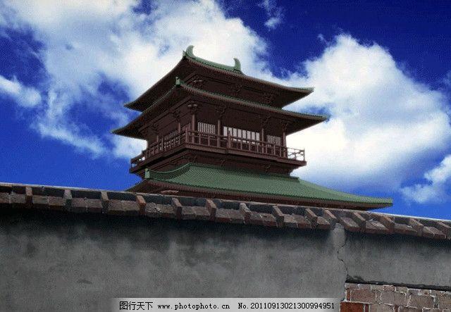 古楼3d模型 古楼 古代建筑 室外模型 宝塔 3d设计模型 源文件 max