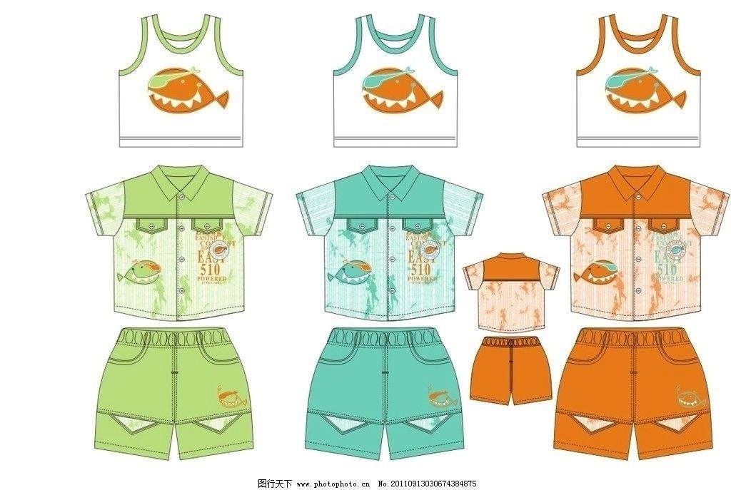 矢量熊 卡通动物 儿童服装印花 印花图案 服装印花 欧美 日 韩 设计
