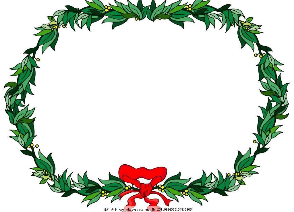 橄榄叶相框 边框底纹 边框相框 底纹边框 橄榄叶相框设计素材 橄榄叶