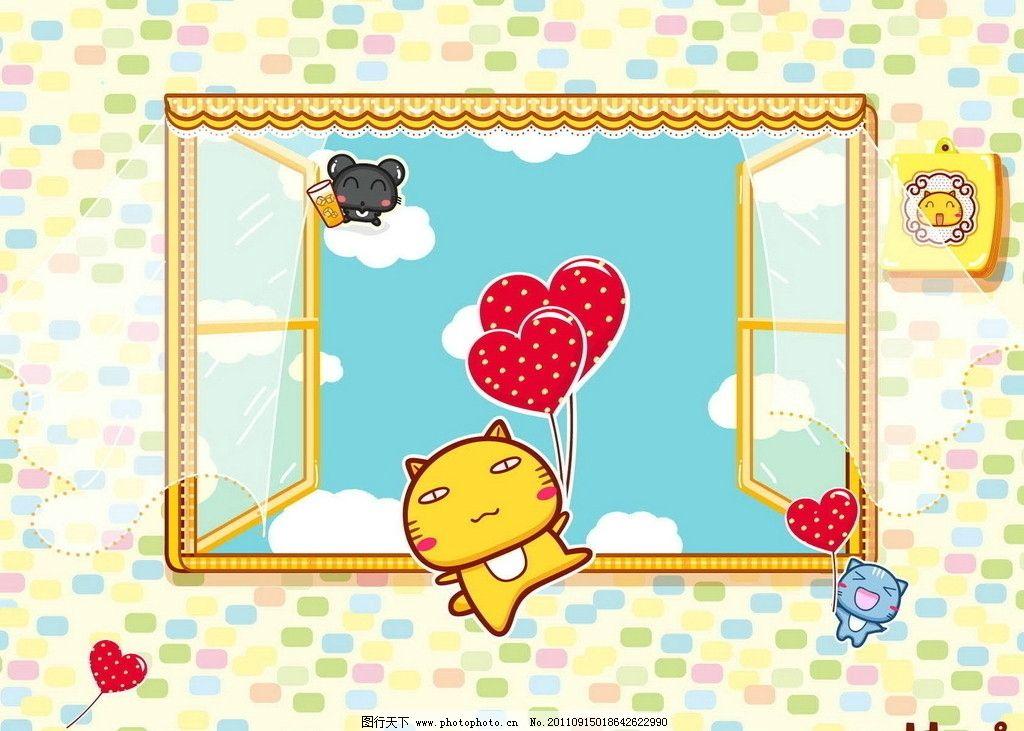 哈咪可爱猫图片_其他_动漫卡通