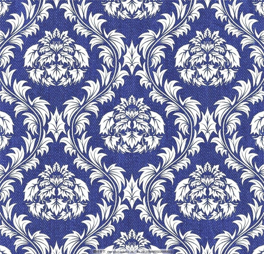欧式花纹 布纹图片