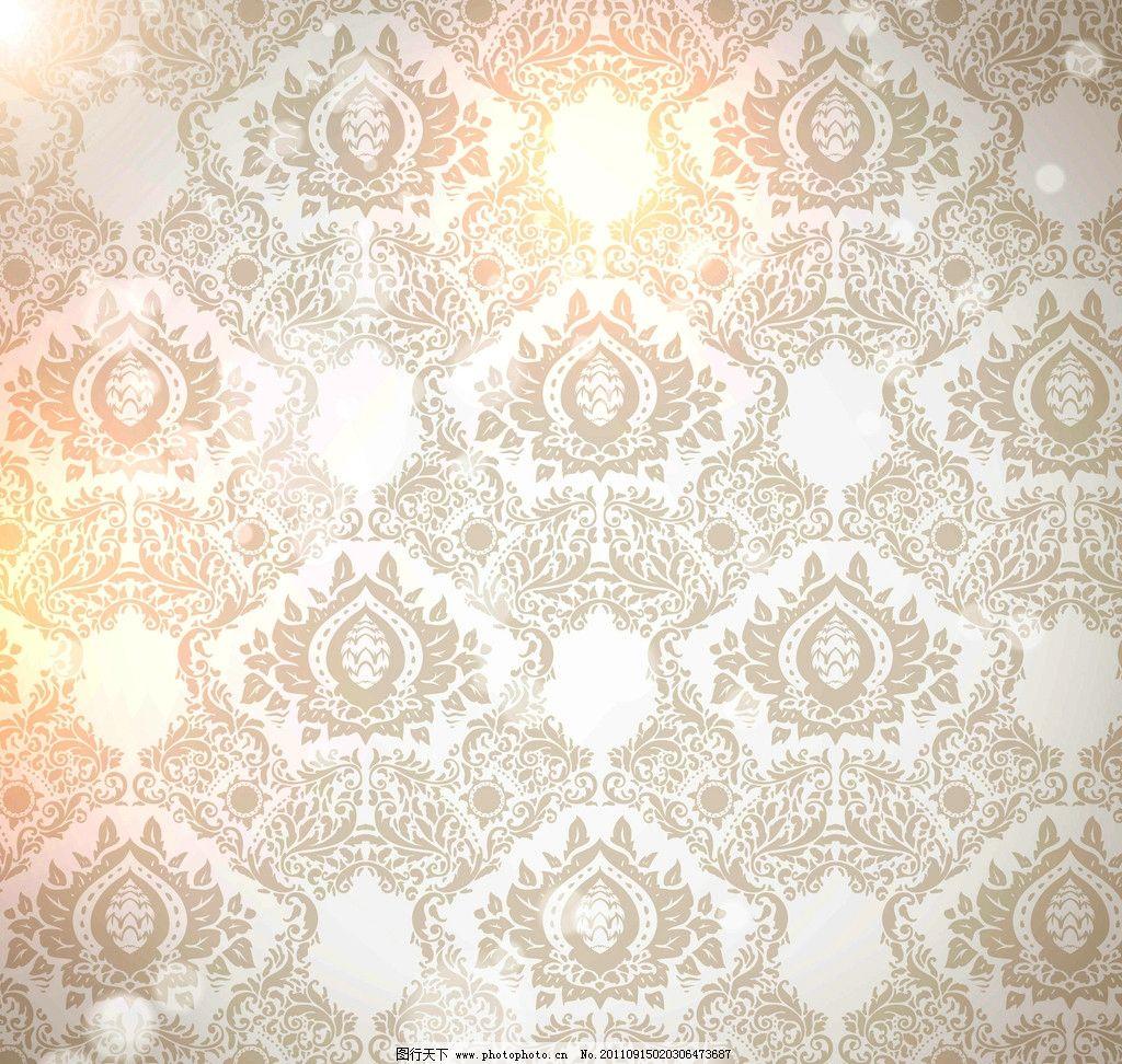 设计图库 底纹边框 花边花纹  欧式古典花纹花边 欧式花纹 复古花纹