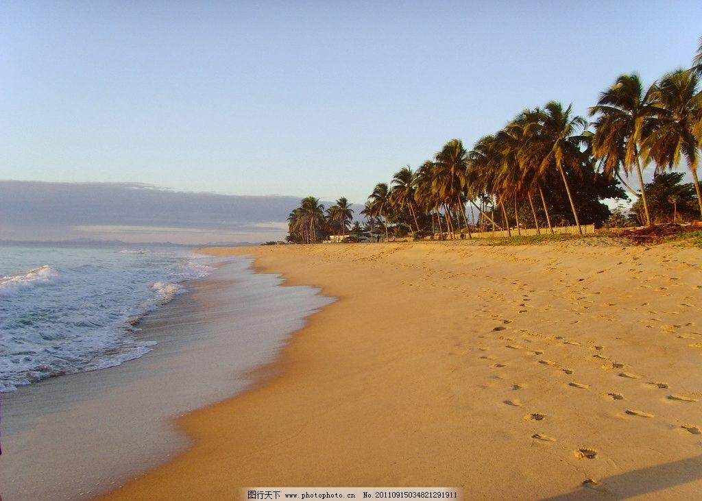 大海沙滩图片_自然风景_自然景观_图行天下图库
