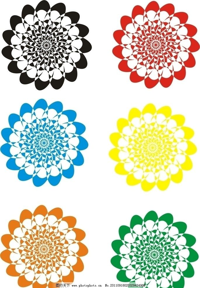 圆形花纹 圆形 花纹 花边花纹 底纹边框 设计 300dpi jpg