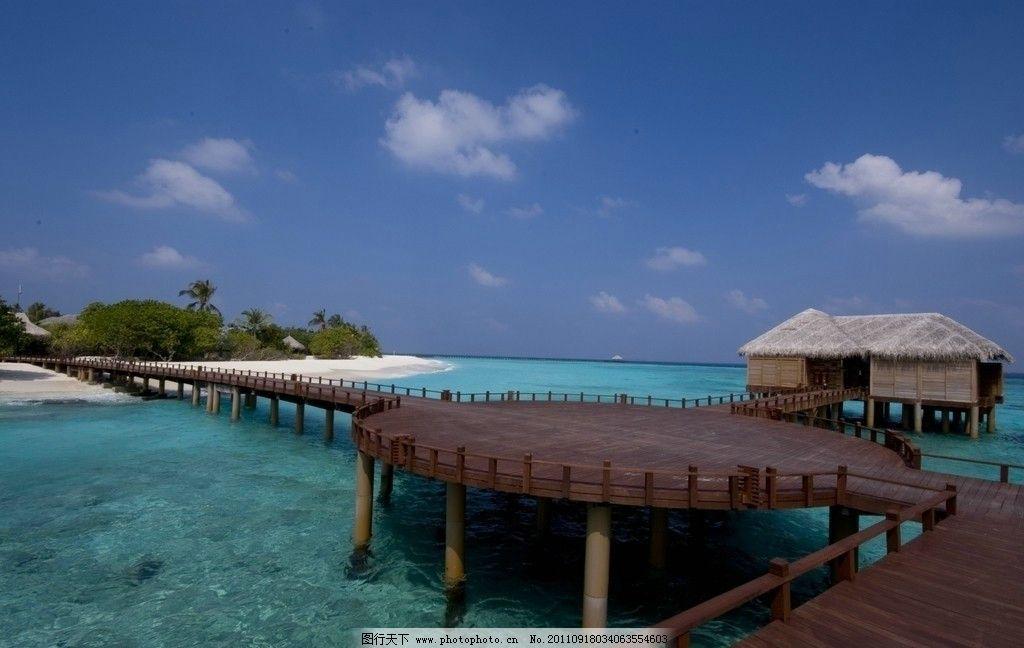马尔代夫 鲁宾逊岛图片_国外旅游_旅游摄影_图行天下