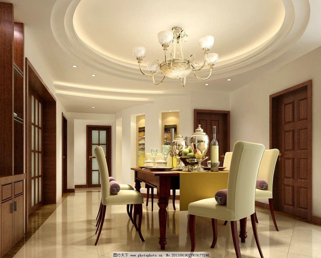 水晶吊灯 灯具设计 木门 酒店式公寓 样板房效果图 样板房 精装房