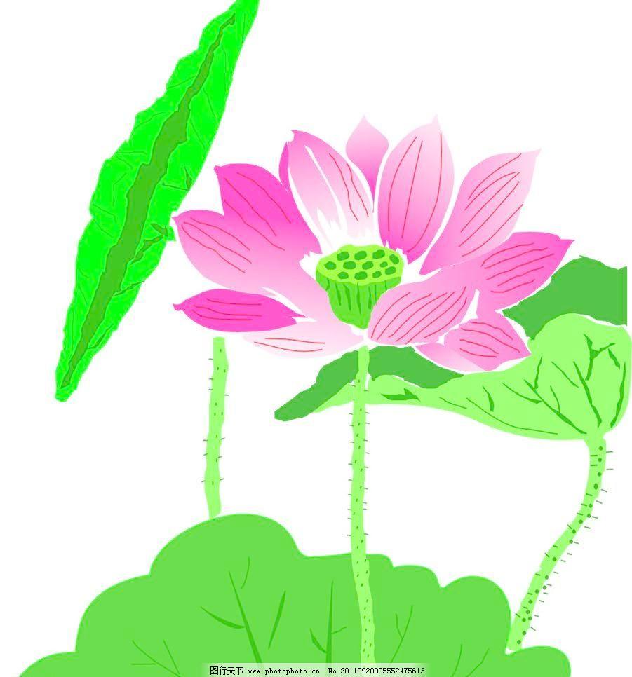 荷叶矢量素材 荷叶模板下载 荷叶 绿色 莲藕 自然风景 自然景观 矢量