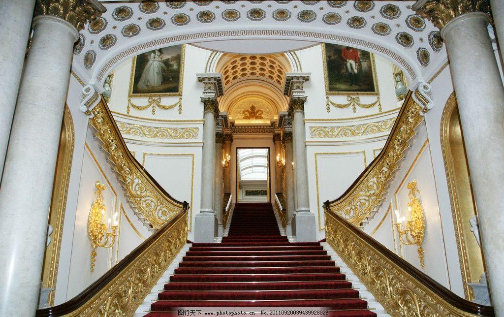 古典欧式红地毯楼梯