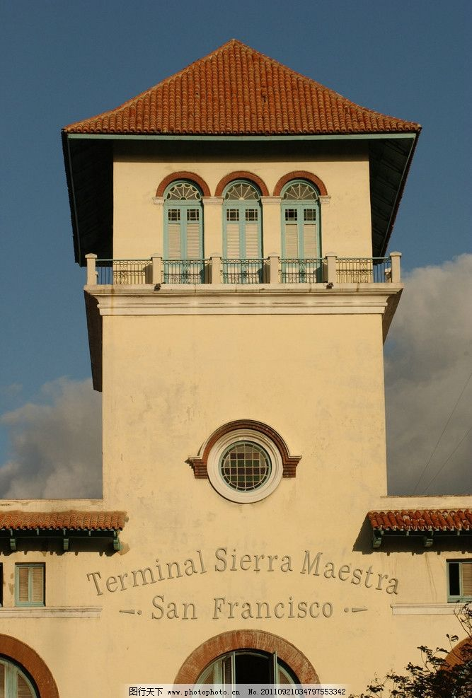 意大利风格建筑 意大利风格 欧式 英式 西班牙 南加州 外国 塔楼 建筑