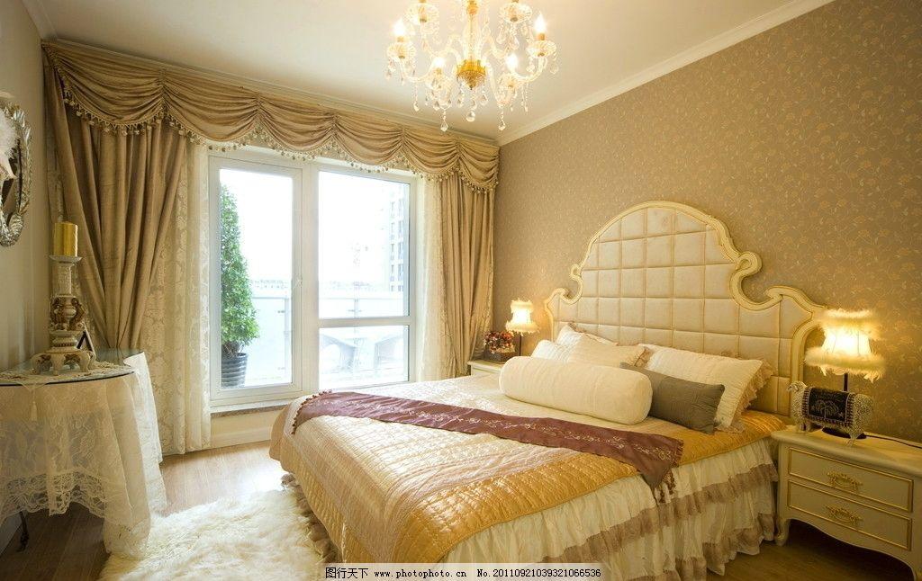 欧式卧室 室内设计 室内