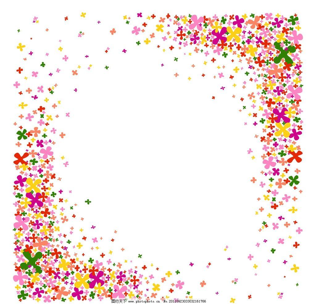 花边装饰 花边 装饰 花朵 边框 蝴蝶 红色 模板 星星 psd分层素材 源