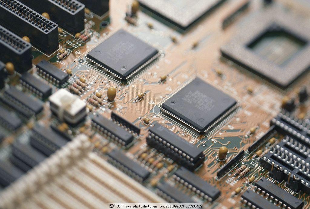 电脑网络  芯片电路