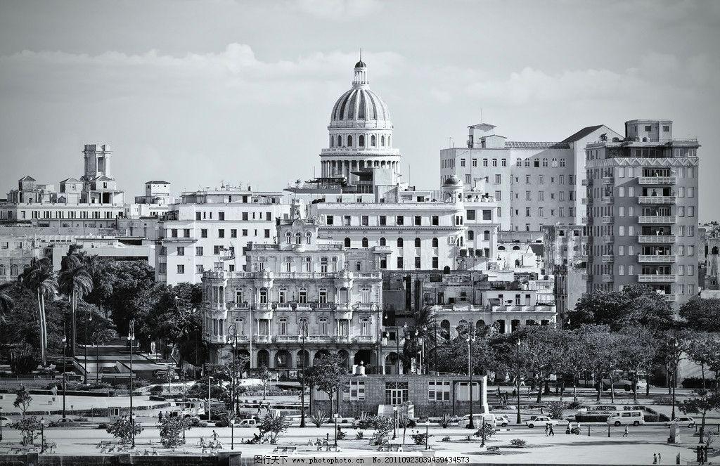 美国白宫 美国政治中心 老照片 黑白照片 欧式建筑 白宫 华盛顿景点