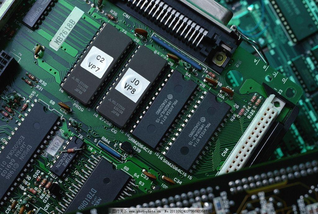 芯片电路图片