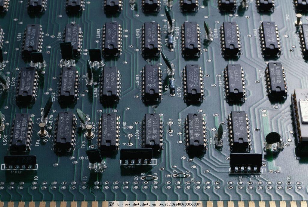 芯片电路图片_电脑网络