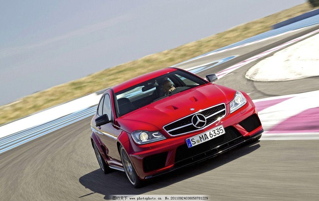 奔驰红色家用车 代步车 轿车 跑车 奢侈 豪华 汽车 名车 豪车