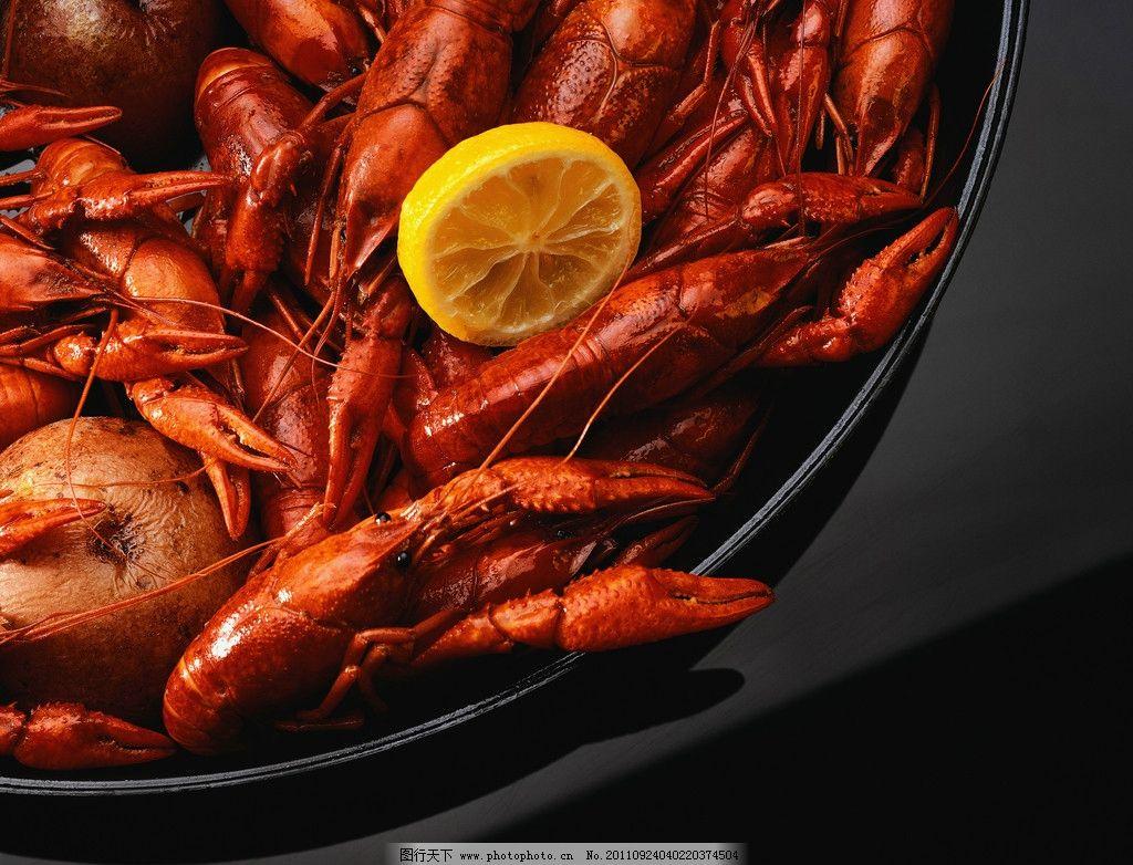 红烧龙虾美食