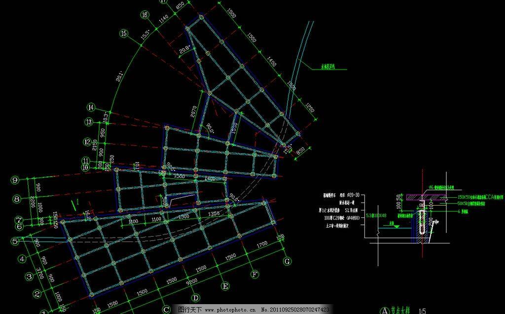 木平台结构平面图片