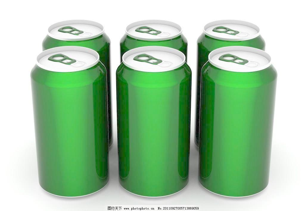 易拉罐 空啤酒罐 3d易拉罐 3d设计 设计 300dpi     矢量图 日常生活