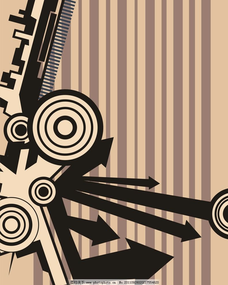 箭头 背景 底纹 圆圈 条形 图腾 形状 背景底纹 底纹边框 设计 96dpi