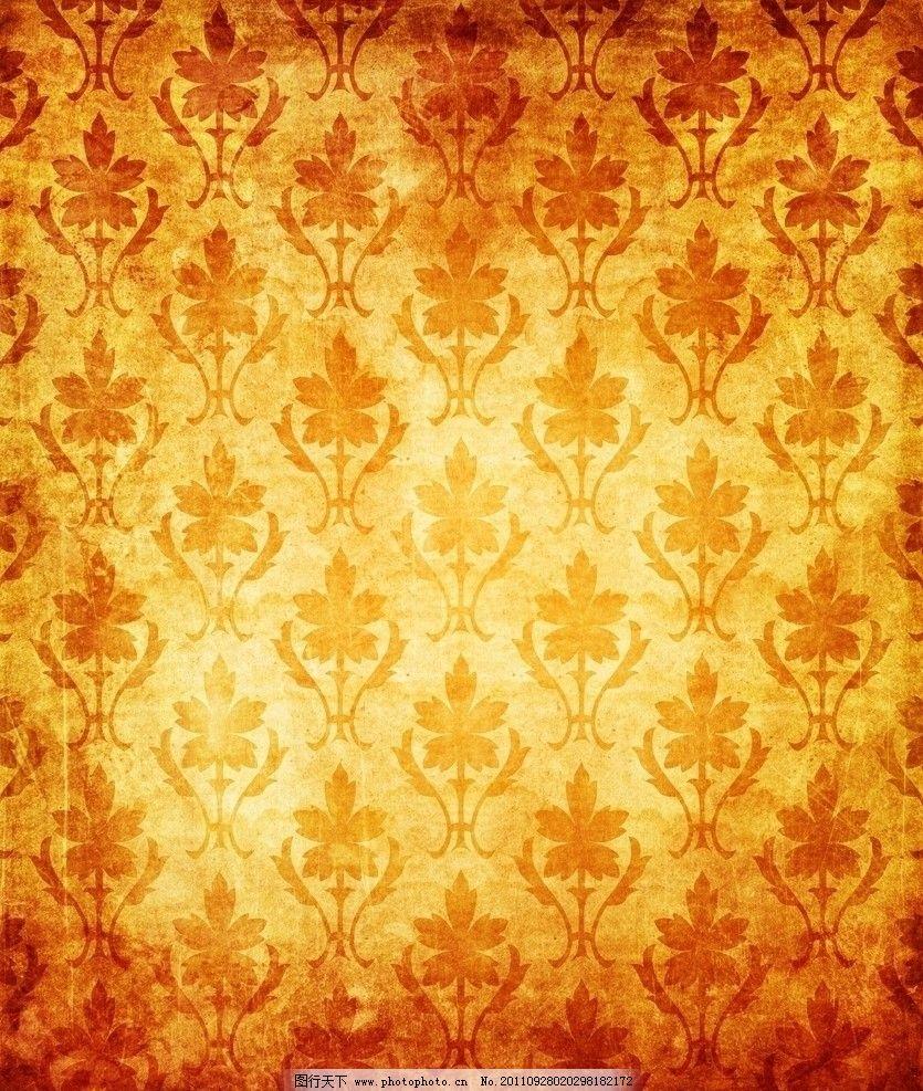欧式花纹墙纸 复古怀旧背景 花纹 欧式花纹 壁纸 老式花纹 墙纸 背景