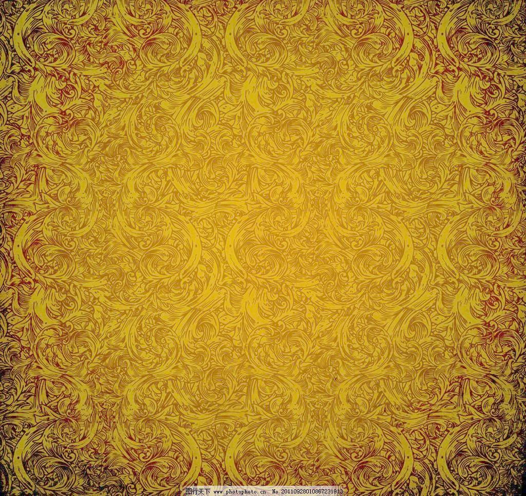 欧式花纹墙纸 复古怀旧背景 花纹 欧式花纹 壁纸 老式花纹 墙纸 背景图片