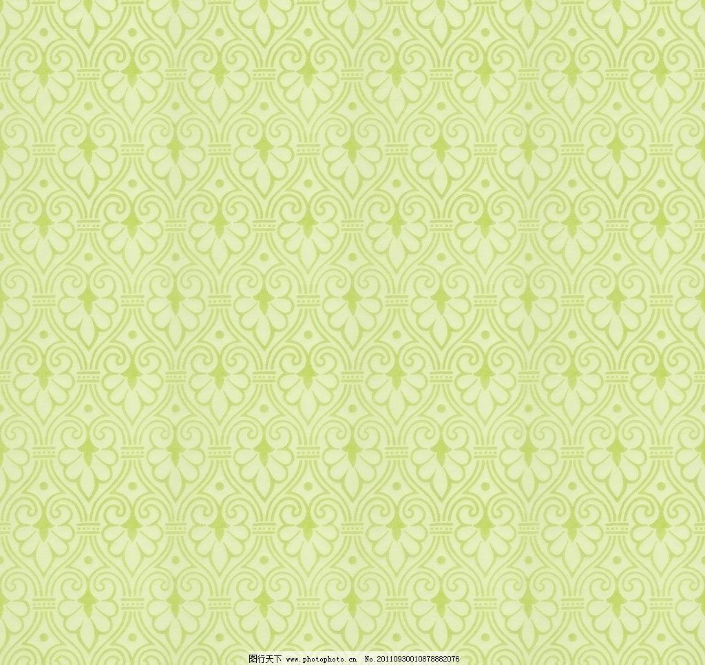 欧式花纹 布纹 墙纸图片